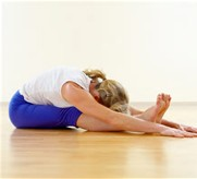 heart Chakra forward bend sitting