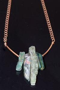 Indigo Kyanite necklace